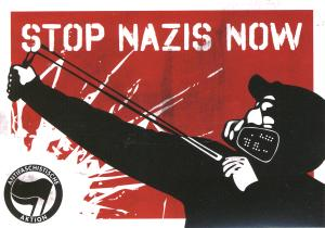 Aufkleber-Paket: Stop Nazis Now (2)
