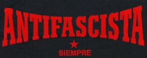 Detailansicht T-Shirt: Antifascista siempre