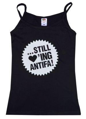 Trägershirt: ... still loving antifa!
