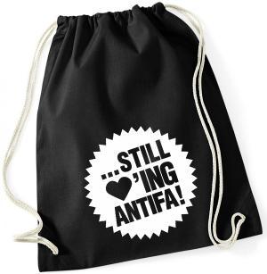 Sportbeutel: ... still loving antifa!