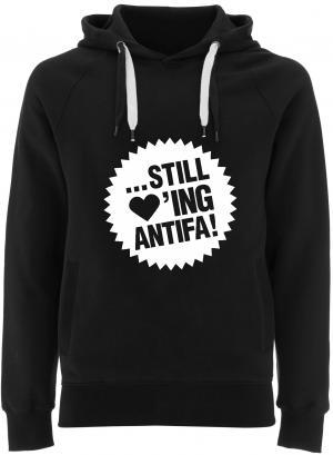 Fairtrade Pullover: ... still loving antifa!