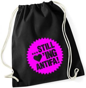 Sportbeutel: ... still loving antifa! (pink)