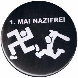 25mm Magnet-Button: 1. Mai Nazifrei