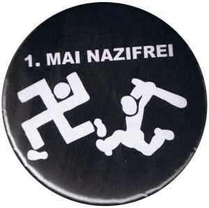 37mm Button: 1. Mai Nazifrei