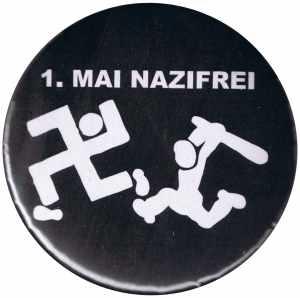 50mm Magnet-Button: 1. Mai Nazifrei