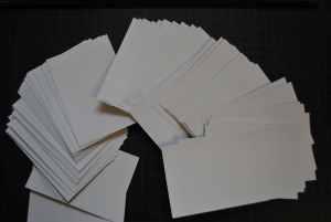 Aufkleber Druckangebot: 100 Aufkleber, eigenes Motiv (5,5cm x 5,5cm)