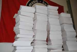 Aufkleber Druckangebot: 10.000 Aufkleber, eigenes Motiv, DIN A7
