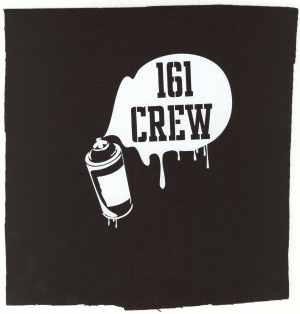 Aufnäher: 161 Crew - Spraydose