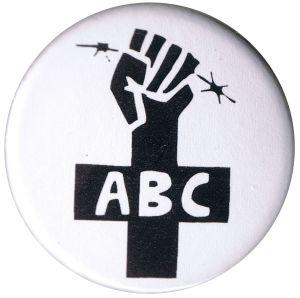 25mm Magnet-Button: ABC-Zeichen