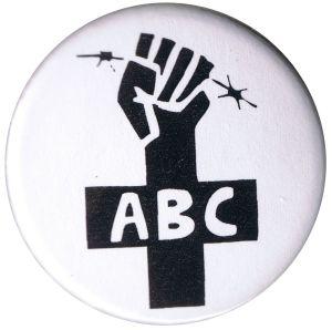 50mm Button: ABC-Zeichen