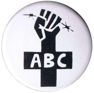 37mm Magnet-Button: ABC-Zeichen