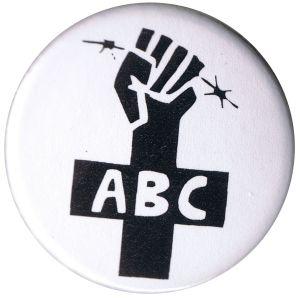 50mm Magnet-Button: ABC-Zeichen