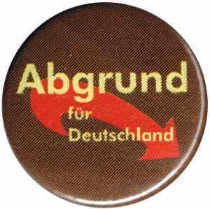 50mm Button: Abgrund für Deutschland