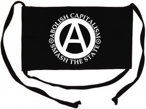 Mundmaske: Abolish Capitalism - Smash The State