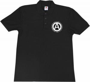 Polo-Shirt: Abolish Capitalism - Smash The State