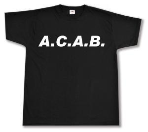 T-Shirt: A.C.A.B.