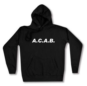 taillierter Kapuzen-Pullover: A.C.A.B.
