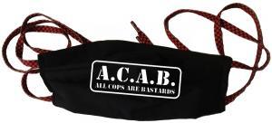 Mundmaske: A.C.A.B. - All cops are bastards