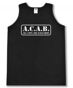 Tanktop: A.C.A.B. - All cops are bastards