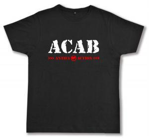 Fairtrade T-Shirt: ACAB Antifa Action