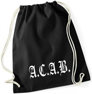 Sportbeutel: A.C.A.B. Fraktur