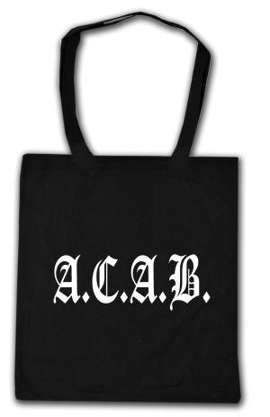 Baumwoll-Tragetasche: A.C.A.B. Fraktur