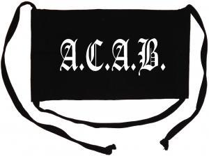 Mundmaske: A.C.A.B. Fraktur