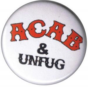 50mm Button: ACAB und Unfug