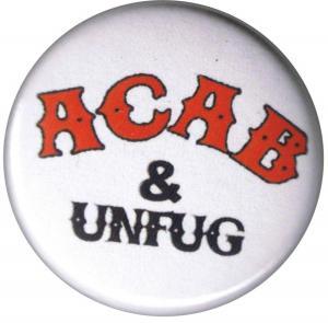 25mm Magnet-Button: ACAB und Unfug