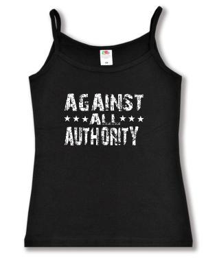 Trägershirt: Against All Authority