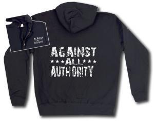 Kapuzen-Jacke: Against All Authority