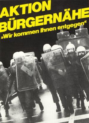 Postkarte: Aktion Bürgernähe
