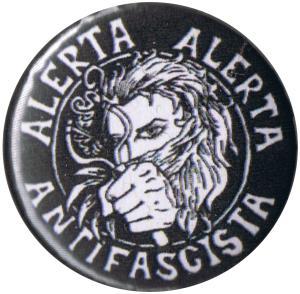 50mm Magnet-Button: Alerta Alerta Antifascista