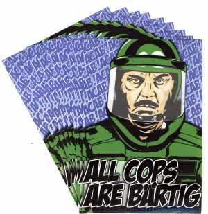 Aufkleber-Paket: All Cops Are Bärtig (ACAB)