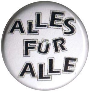 37mm Magnet-Button: Alles für Alle
