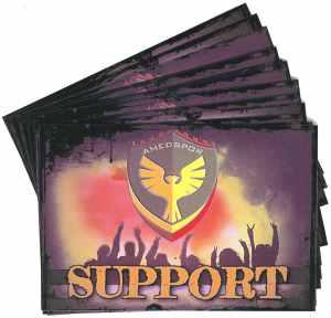 Aufkleber-Paket: Amedspor Support