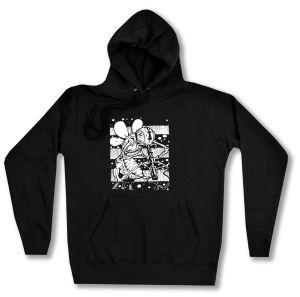 taillierter Kapuzen-Pullover: Ameise