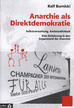 Broschüre: Anarchie als Direktdemokratie