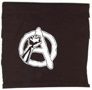 Aufnäher: Anarchie Faust