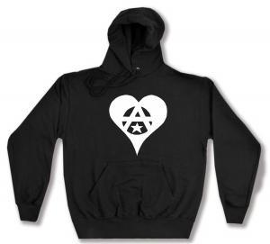 Kapuzen-Pullover: Anarchie Herz