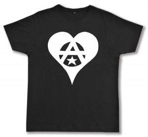 Fairtrade T-Shirt: Anarchie Herz