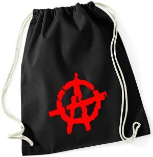 Sportbeutel: Anarchie (rot)