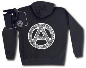 Kapuzen-Jacke: Anarchie - Tribal
