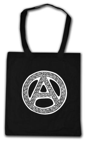 Baumwoll-Tragetasche: Anarchie - Tribal