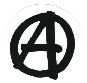 Aufkleber: Anarchie