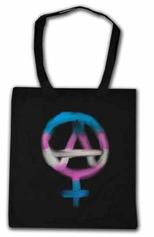 Baumwoll-Tragetasche: Anarcho-Feminismus