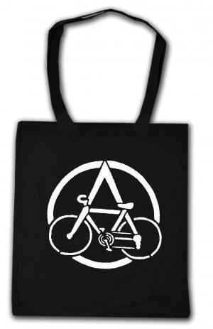Baumwoll-Tragetasche: Anarchocyclist