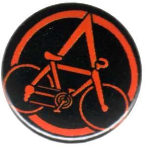 25mm Magnet-Button: Anarchocyclist