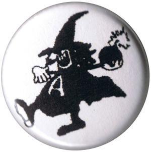 25mm Magnet-Button: Anarchy Bomb Zwerg