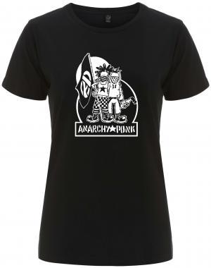 tailliertes Fairtrade T-Shirt: Anarchy Punk